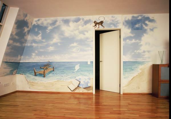 d cors peintures murales munich 1989. Black Bedroom Furniture Sets. Home Design Ideas